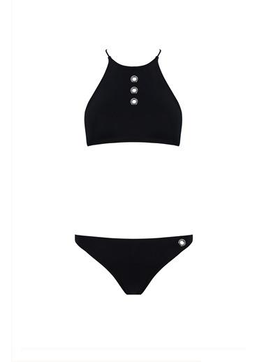 Sand and Blue Lonicera Bikini Siyah